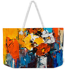 Dancing Colors Weekender Tote Bag