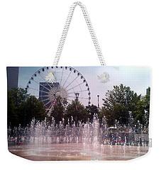 Dancing Fountains Weekender Tote Bag