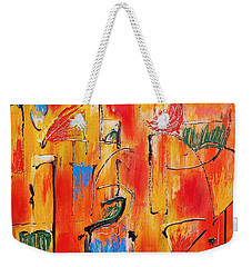 Dancing In The Heat Weekender Tote Bag