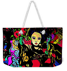 Dancing In The Moonlight Weekender Tote Bag by Natalie Holland