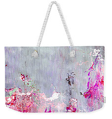 Dancing In The Rain - Abstract Art Weekender Tote Bag by Jaison Cianelli