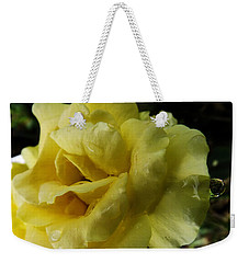 Dancing In The Rain Weekender Tote Bag by Robyn King