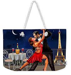 Dancing Under The Stars Weekender Tote Bag by Glenn Holbrook