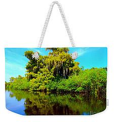 Dancing Willow Weekender Tote Bag by Carey Chen
