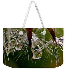 Dandelion Droplets Weekender Tote Bag