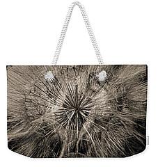 Weekender Tote Bag featuring the digital art Dandelion by Maciek Froncisz
