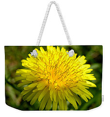 Dandelion Weekender Tote Bag by Ron Harpham