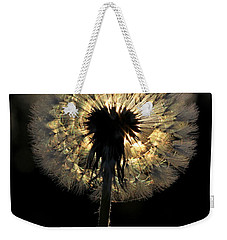 Dandelion Sunrise - 1 Weekender Tote Bag by Kenny Glotfelty
