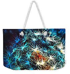 Dandy Puff Weekender Tote Bag by Kathy Braud