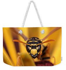 Danger Stare Weekender Tote Bag by Kenny Glotfelty