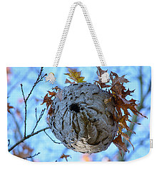Weekender Tote Bag featuring the photograph Danger Zone by Tikvah's Hope