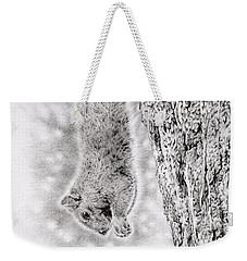 Dangling Squirrel Weekender Tote Bag