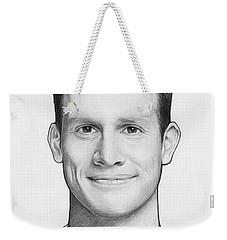 Daniel Tosh Weekender Tote Bag by Olga Shvartsur