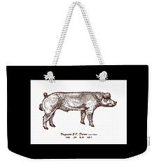 Danish Duroc Weekender Tote Bag