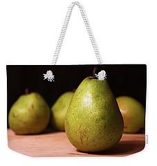 D'anjou Pears Weekender Tote Bag by Joseph Skompski