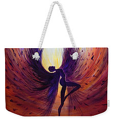 Dark Angel Weekender Tote Bag by Lilia D
