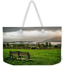 Dark Clouds Over Killarney Lakes Weekender Tote Bag