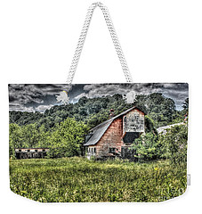 Dark Days For The Farm Weekender Tote Bag