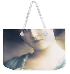 Dark Haired Beauty Weekender Tote Bag