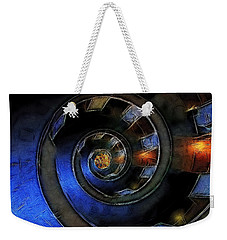 Dark Hallway Down Weekender Tote Bag