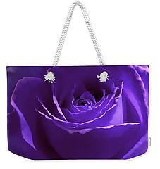 Dark Secrets Purple Rose Weekender Tote Bag