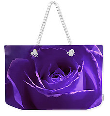 Dark Secrets Purple Rose Weekender Tote Bag