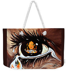 Dark Sorrow  Weekender Tote Bag by Jackie Carpenter