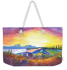 Dark Star Orchestra Dillon Amphitheater Weekender Tote Bag