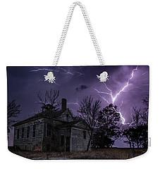 Dark Stormy Place Weekender Tote Bag