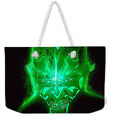 Darth Maul Green Glow Weekender Tote Bag