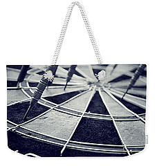 Darts Anyone Weekender Tote Bag