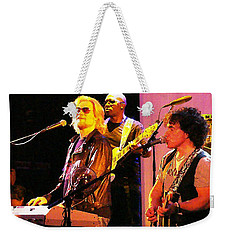Daryl Hall And Oates In Concert Weekender Tote Bag