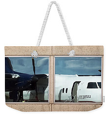 Dash Reflection Weekender Tote Bag by Greg Reed