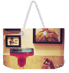 Weekender Tote Bag featuring the photograph Date With Self by Meghan at FireBonnet Art