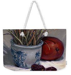Dates Lemongrass And Mango Weekender Tote Bag