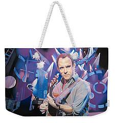 Dave Matthews And 2007 Lights Weekender Tote Bag by Joshua Morton