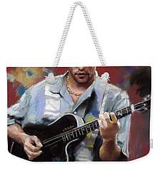 Dave Matthews Weekender Tote Bag
