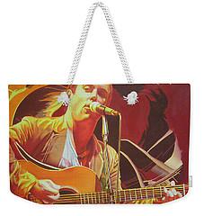 Dave Matthews At Vegoose Weekender Tote Bag by Joshua Morton