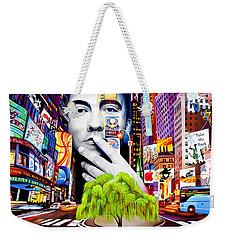 Dave Matthews Dreaming Tree Weekender Tote Bag by Joshua Morton