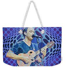 Dave Matthews-op Art Series Weekender Tote Bag