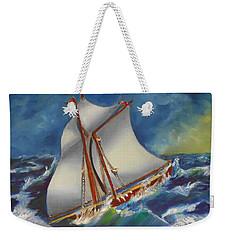 Daves' Ship Weekender Tote Bag