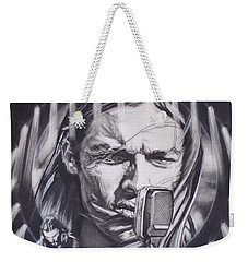 David Gilmour Of Pink Floyd - Echoes Weekender Tote Bag