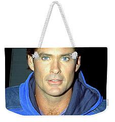 David Hasselhoff 1991 Weekender Tote Bag