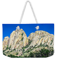 Davis Mountains Of S W Texas Weekender Tote Bag