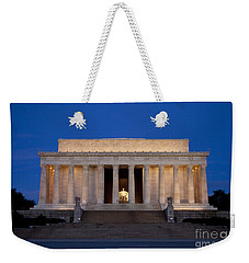 Dawn At Lincoln Memorial Weekender Tote Bag