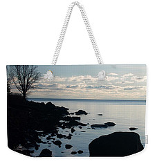 Weekender Tote Bag featuring the photograph Dawn At The Cove by James Peterson