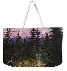 Dawn Fire Weekender Tote Bag