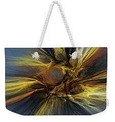 Weekender Tote Bag featuring the digital art Dawn Of Enlightment by David Lane