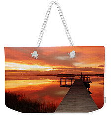 Dawn Of New Year Weekender Tote Bag
