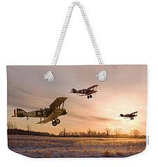 Dawn Patrol Weekender Tote Bag by Pat Speirs